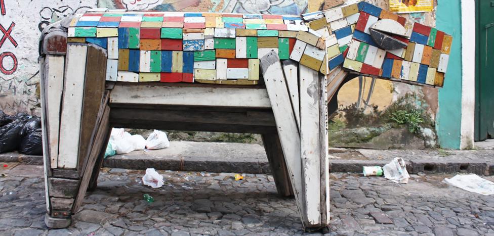 Cavalo de madeira - Salvador (BA)