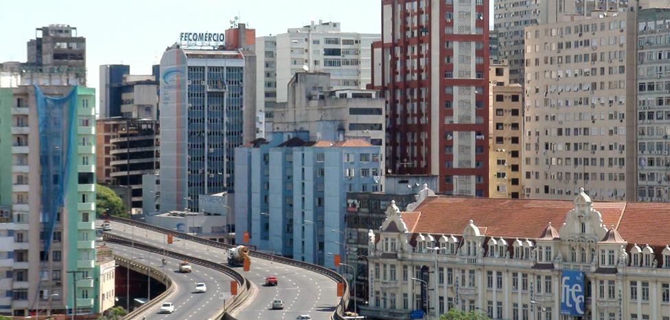 Centro da cidade - Porto Alegre (RS)