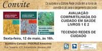 Editora Rede Unida lança três livros no dia 12 de maio