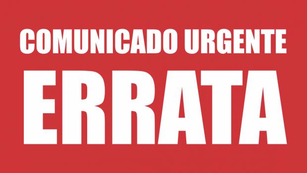 ERRATA EDITAL N° 02/2017 EDITORA REDE UNIDA